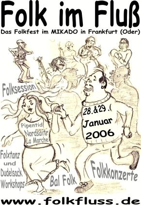 Plakat Folk im Fluss 2006