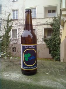 Die letzte Flasche Festivalbier ;-)