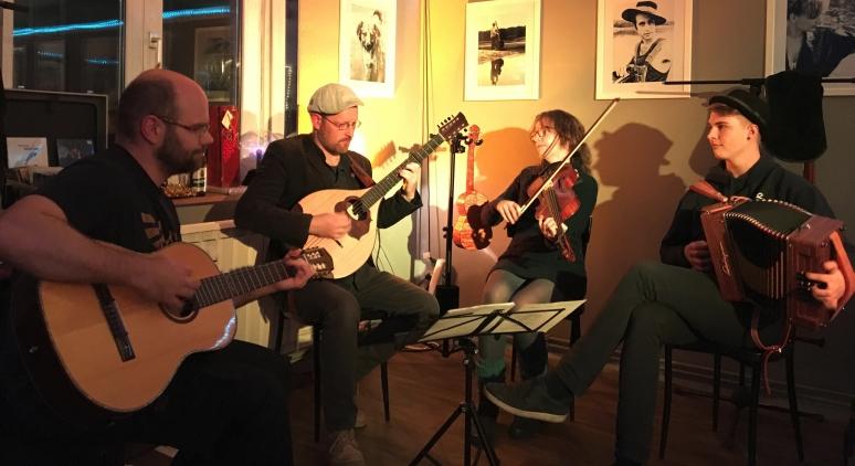 Familie Gerstenberg Quartett